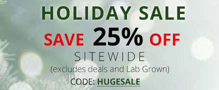 Holiday sale + save 25% Off