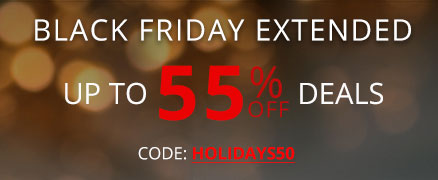 Black friday sale + save 50% Off