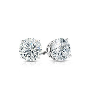 1/2 Carat Diamond Earrings