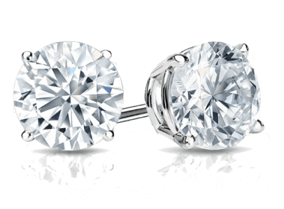 GIA & EGL USA Certified Diamond Studs
