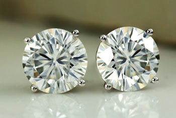Lab Grown Men's Diamond Studs