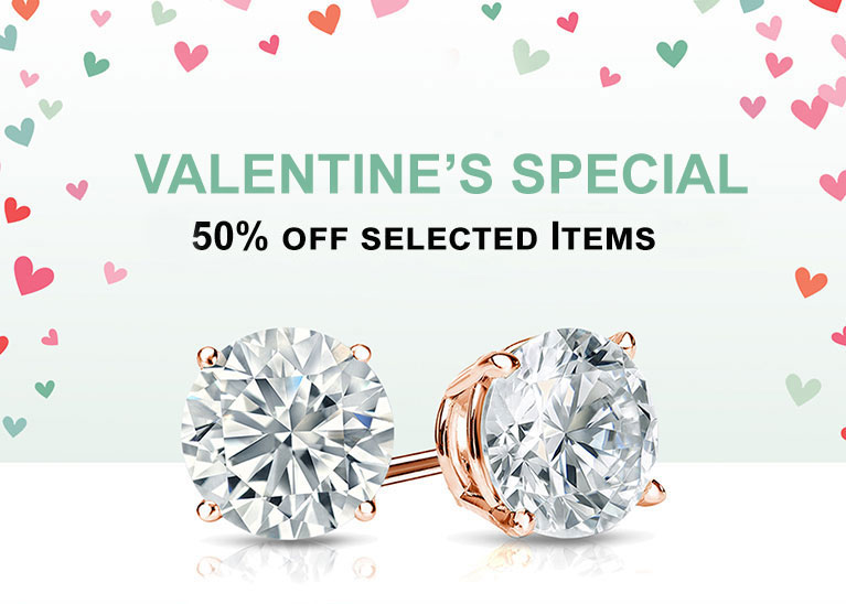 Valentine Special Extra 50% off selected items