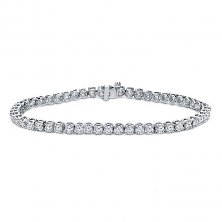 Diamond Tennis Bracelet 3.00 ct. tw. (G-H, SI1-SI2) in 14K White Gold, 7.25 inch