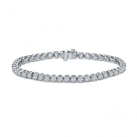 Diamond Tennis Bracelet 5.00 ct. tw. (H-I, VS1-VS2) in 14K White Gold, 7.25 inch