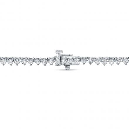 Diamond Eternity Neckalce in 18k White Gold 10.00 ct. tw. (E-F, VS)